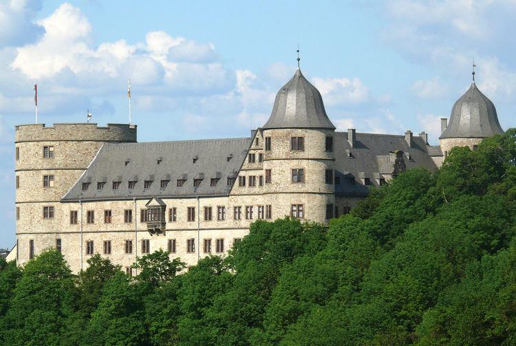 Blue Sky Bluesky Burg Buren Castle Dreiecksburg Forest Paderborn Paderborn Germany Wewelsburg