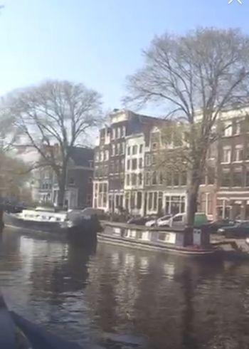 Trip around the world with Periscope Amsterdamse Grachten