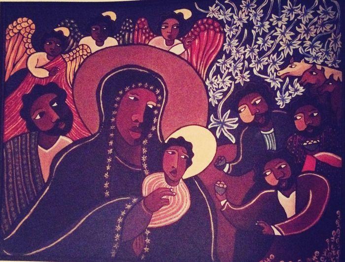Icon Theotokos Church Beautiful an Ethiopian Icon of the Theotokos and Christ-Child