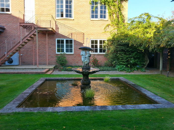 Kinds of cute I thought. Water Feature New Zealand Architecture New Zealand Scenery Wedding Venue