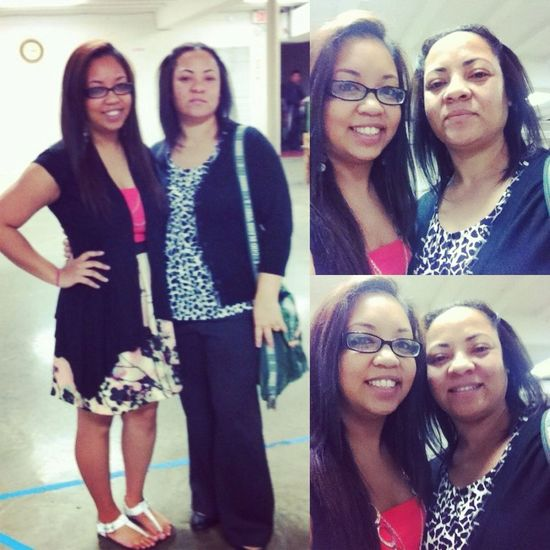 Me & my mommy ^.^