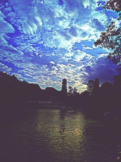 Beautiful Sky Clouds And Sky Park