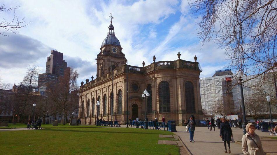 Light And Shadow Architecture Travel Destinations Façade City Building Exterior Birmingham Birmingham UK Day EyeEmNewHere EyeEmNewHere