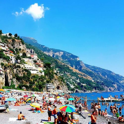 Positano Positano, Italy Positanocoast Positano Italy Amalfi Coast Amalficoust Amalfi_coast Amalfitancoast Amalfiküste Amalfitan Coast Amalficoast Costieramalfitana Costieraamalfitana Costiera Amalfitana Sea Mare Spiaggia Beach Beachphotography Large Group Of People Outdoors Leisure Activity Crowd People