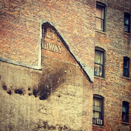 Fire Aftermath ... Anyone know what this used to say? Washingtonheights Inwood Newyorkcity Instagramuptown newyork city uptown canon