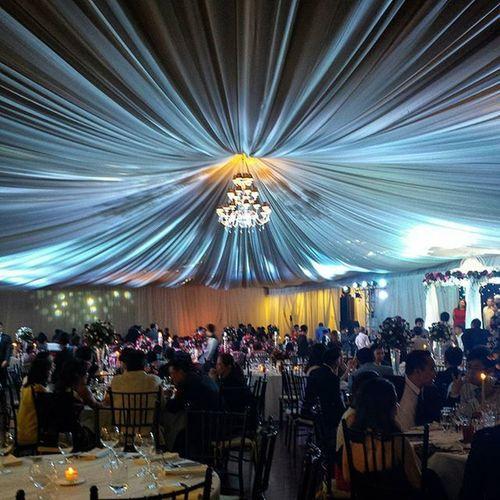 JZsayIDo wedding reception at Enderun tent, BGC