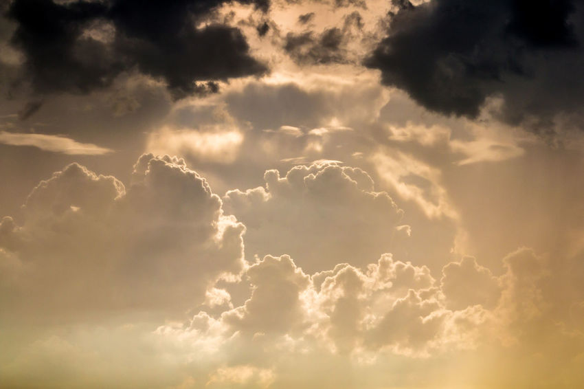 The Nature of cloud always change all the time. Abstract Atmosphere; Background Beauty In Nature Climatechange Cloud - Sky Cloudscape Colorful; Day Dream; Environment; Evening; Fantastic; Fluff; Freedom; Nature No People Outdoors Rainy; Scenics Sky Sunset; Tranquil Scene Tranquility Weather;