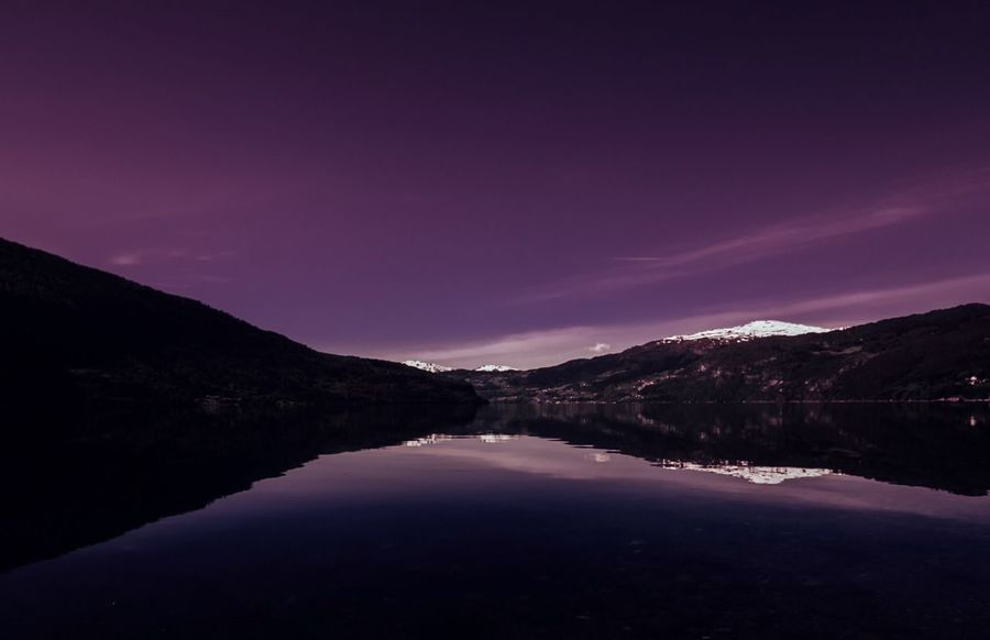 - SILENT PURPLE FINE-ART - My Best Photo 2016 Nightphotography Night Photography Violet Purple Reflection Reflections Reflections In The Water Water Reflections Water Fjord Norway Sky Skyporn Nature Nature Photography Mountains Landscape Photography Lysefjord Minimal Fine Art Outdoor Photography Outside Colour Of Life Betterlandscapes