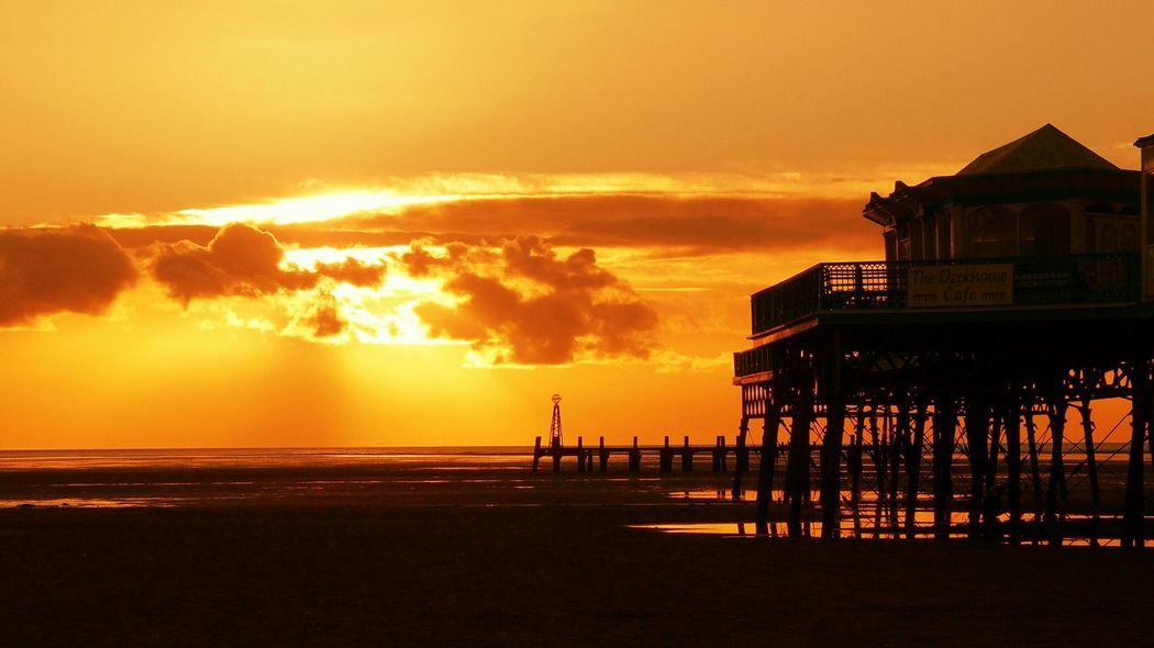 Golden sunset Stannes Lythamstannes Sunset My Photos