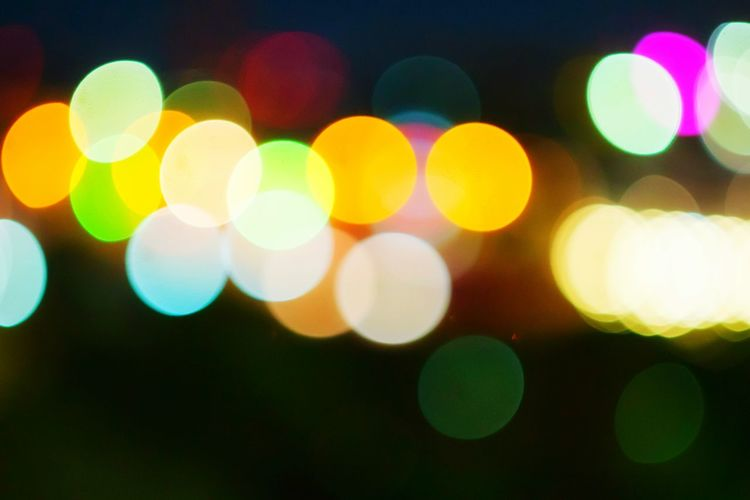 Fancy Bokeh Lens Flare Multi Colored Defocused Illuminated Light Light EffectSoft Focus Light And Shadow Dark And Light Colorful Spotted Pattern Circle Night Abstract Pivotal Ideas Hello World Still Life Fine Arts Hanging Out Taking Photos