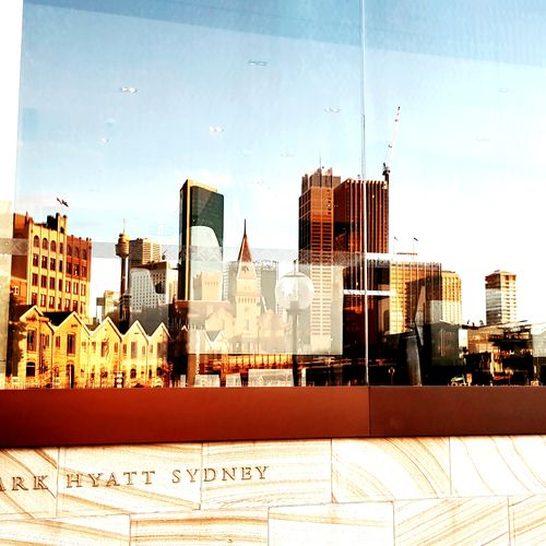 Reflections. Amazing Views Reflections I Love Sydney Out And About Outdoors Sydney Harbour  EyeEm Selects City Cityscape Urban Skyline Skyscraper Modern Sky Architecture Built Structure Multi-layered Effect