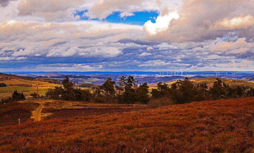 Cloudy Sky Heidelandschaft Hochheide Sauerland Cloud - Sky Heide Landscape_photography Sky