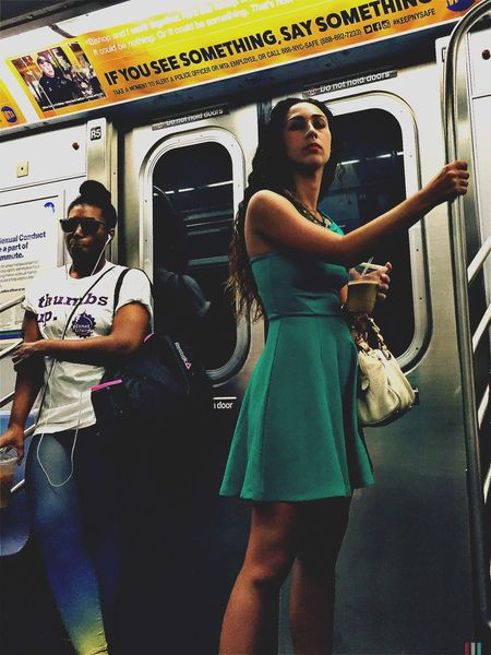 Melissa Transportation Public Transportation Shootermag New York City EyeEm Best Shots This Week On Eyeem NYC Hipstamatic Street Photography City Life Subway