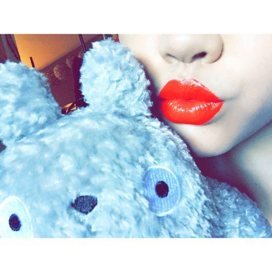 Red Lips Cute♡ Beyourself LoveYourSelf ♥ Adorable Anime Freak