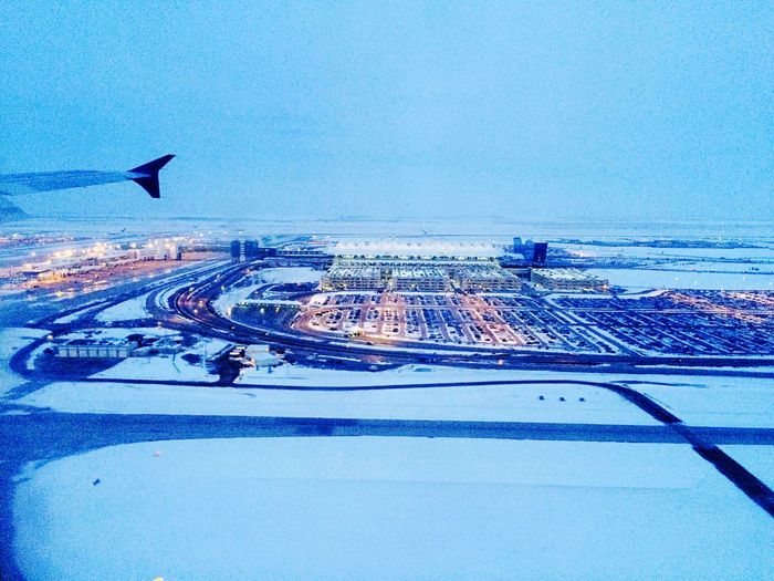 Landing in snow Denver Photography Denver International Airport Arrival View Arrivalsanddepartures Touchdown Snowy Airfield Snowy Airport Flight ✈ Snowy Days... Snowfall Snowy Snow Day Runway Photography Runway Landing Approach Landing Plane Landing - Touching Down Tarmac Airports Snow ❄ Water Sea Blue No People Outdoors Swimming Pool Horizon Over Water Day Illuminated Nature