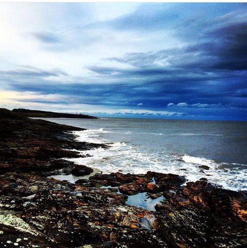 Northumberland Sea Sea And Sky Rocks And Water Howick