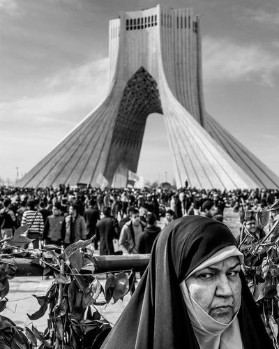 Portrait Worldpressphoto LensCulutrePortrait Everyday People Alipix 1394 Tehran, Iran The Week Of Eyeem EyeEm Best Shots Tehran Black & White Iran Iranian People Revolution ©Ali Nazariat joo The Portraitist - 2016 EyeEm Awards