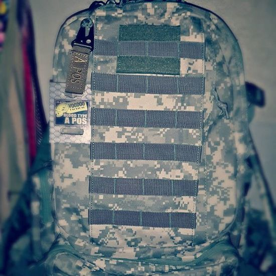 My new voodoo backpack military special edition Backpack Military Love Cop Training Respect Beard Look Costarica Look Army APOS Good Batman Battle Battlefield You Tico Victory