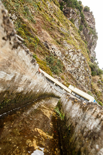 Madeira Island São Jorge Beauty In Nature Day Levada Motion Nature No People Outdoors River Scenics Water Waterfall