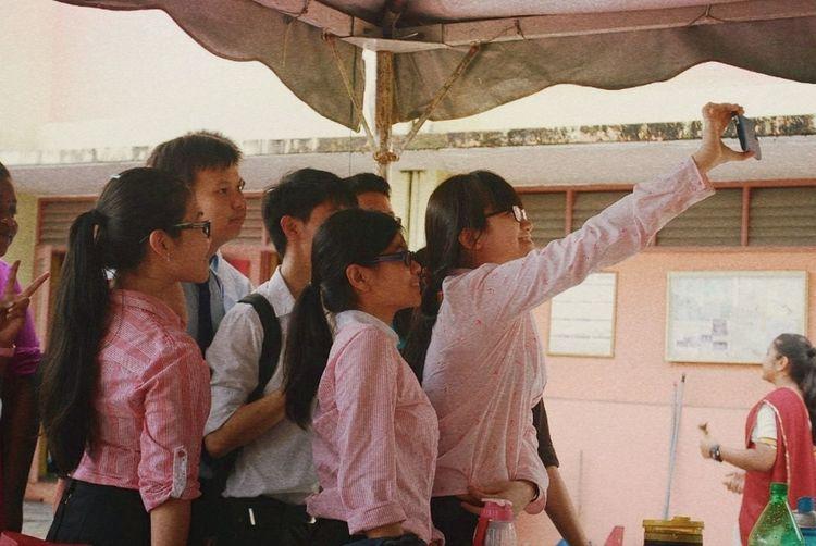 But first....selfie! ? People Selfie Chinese Smkth
