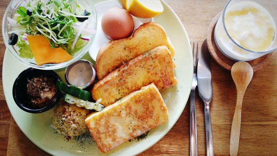 Breakfast Yummy Enjoying Life Relaxing I Love It ❤ Photo Food
