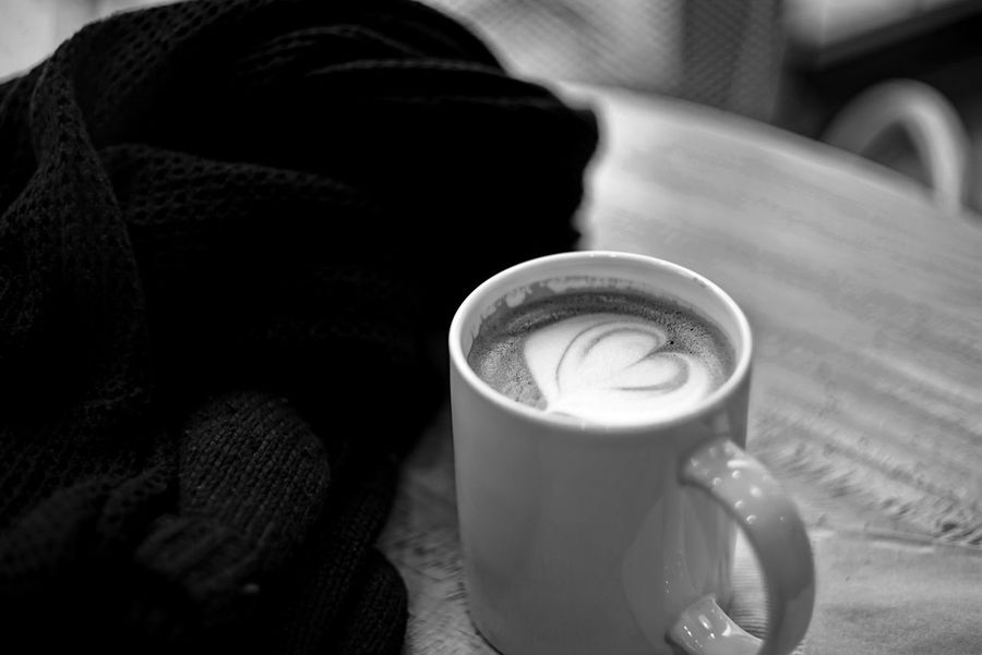 Relaxing Cafe Time Black And White Monochrome High Contrast Carl Zeiss Jena Pancolar 50mm F1.8 Seoul, Korea EyeEm Korea Get Inspired