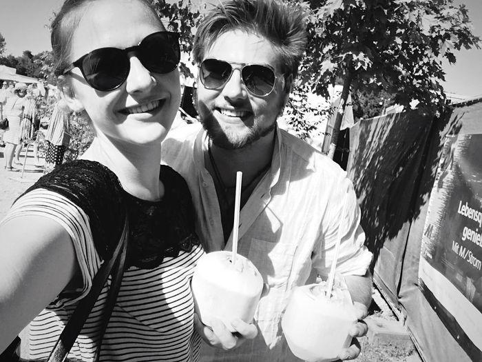 Coconut time ✨ Coconut Relationship Happy Sunglasses Sun Tollwood