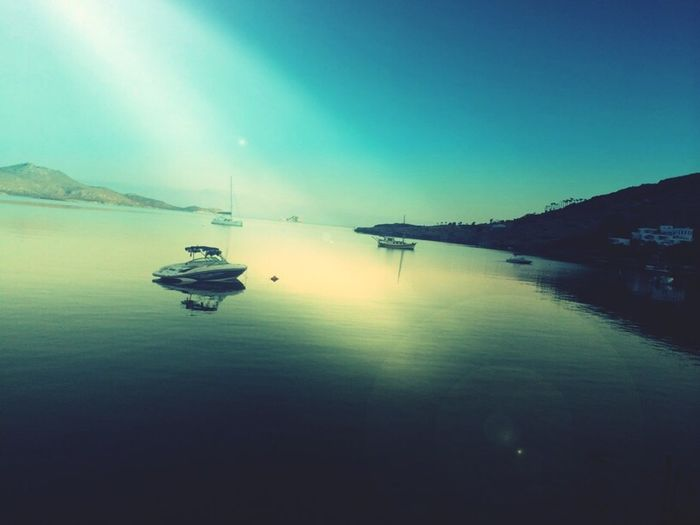 Calm Sea Sky And Sea Turkey Bodrum Photography