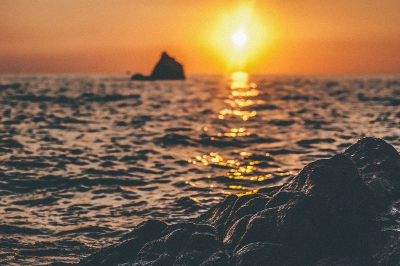 Sunset Sunset Sunset_collection Orange Color Sea Italy Summer Remember Memories Photography Lost In The Landscape Lost In The Landscape