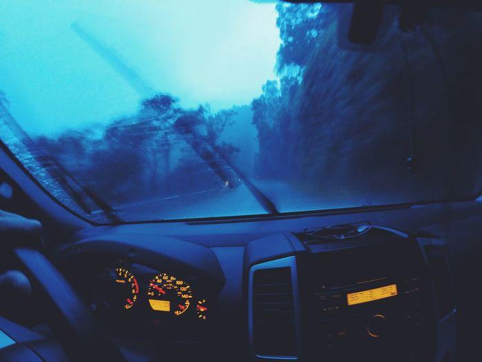 Cropped image of car