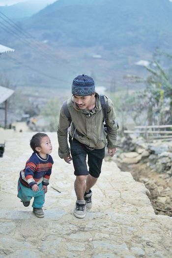Sapa Vietnam Morning Children OpenEdit Friends Hello World GoodTimes ระหว่างทาง