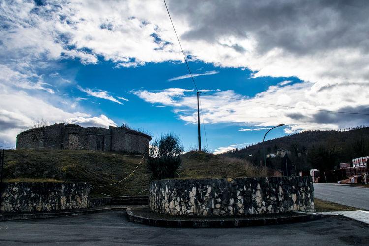 Cimitero Clouds Cold Day Dead Fontechiari Graveyard Napoleon Sky