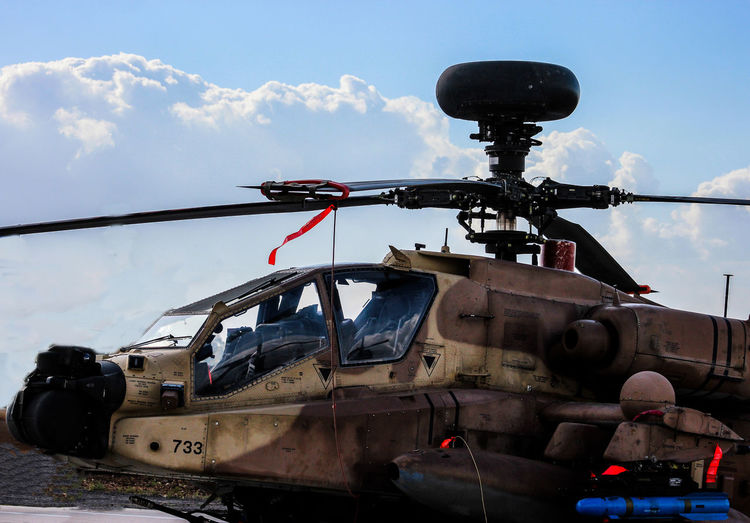 Ah-64 Apac Aviation Clouds And Sky Helicop Longo