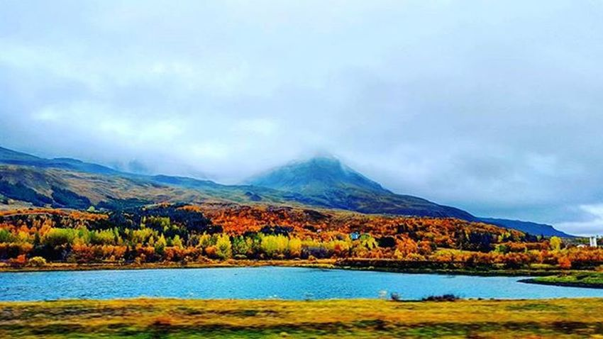 Beautiful Gorgeous Scenic Outdoors Nature Naturelovers Nature_perfection Nature_shooters Landscape Landscape_lovers Landscape_captures Waterfall Amazing Scenic View Iceland Adventure Fun Wanderlust Travel Fall Water Mountains Whyiceland