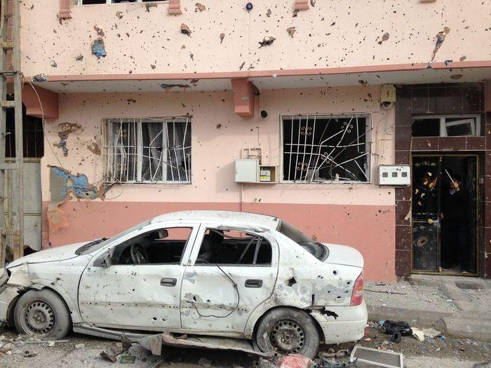 Terörist atack in Kilis Kilis Afrin Terorism Car Damaged Destruction Abandoned Mode Of Transport Transportation No People First Eyeem Photo