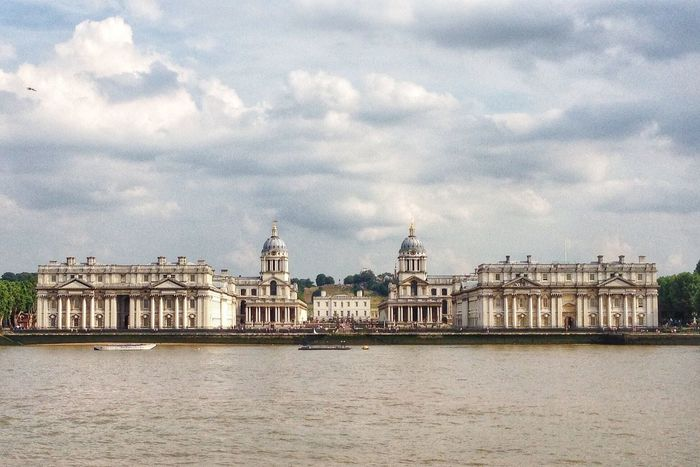 The Old Royal Naval College In The Mean Time EyeEm London Meetup Symmetrical