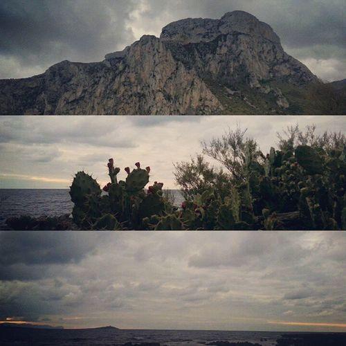 Sunset South Italy Xmasday Christmas Outdoors Beach Mountains Instagood Picoftheday Tagsforlikes Loveit Homesweethome Nature Instamood Palermo Holidays Thistheseason