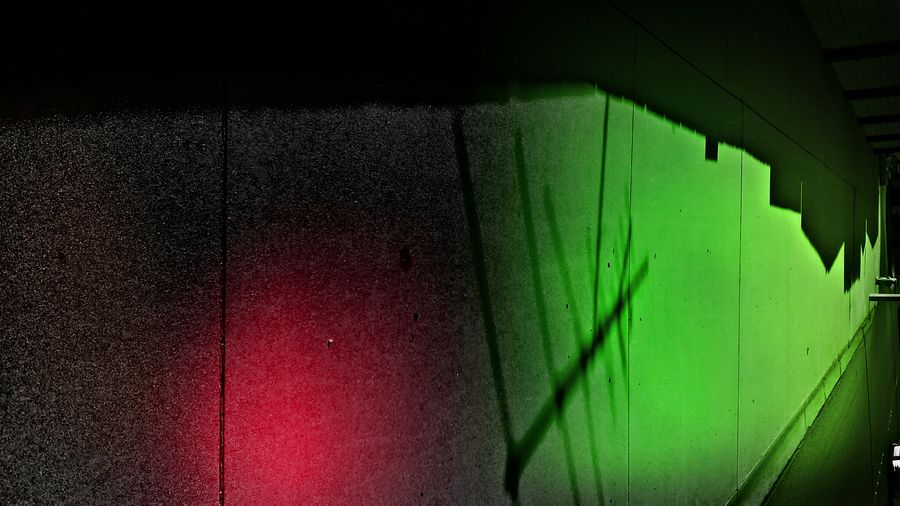 Street Photography Abstract Art Architectural Shadows Green Light, Red Light City Spaces Mind Craft Minimalism