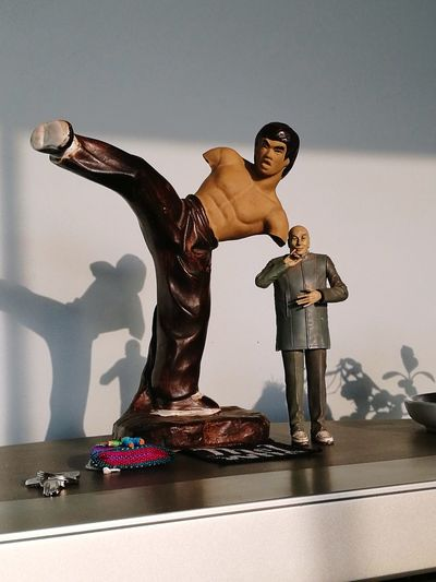 Heroes Figurine  One Person Bruce Lee Doctor Evil