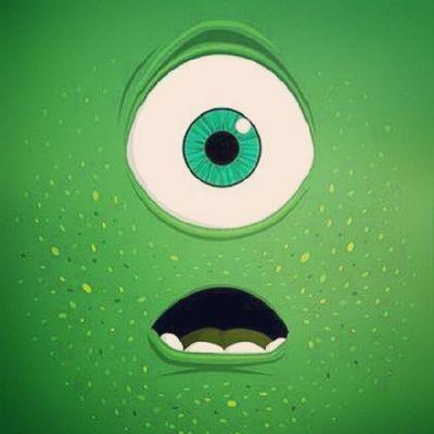 No lo puedo creer, salí en televisión Monstersinc Wallpaper MikeWasawky Eye