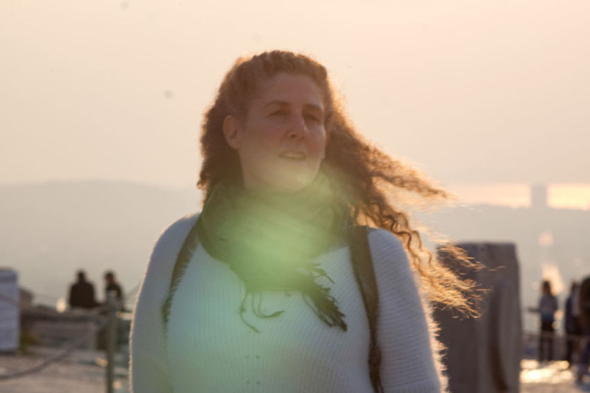Raphaela Gilla in the sunset Portrait Sky One Person Headshot Front View Nature Focus On Foreground Leisure Activity Standing Incidental People Sunset Sunlight Water Young Adult Sea Looking Lifestyles Women Hairstyle Outdoors Contemplation Beautiful Woman