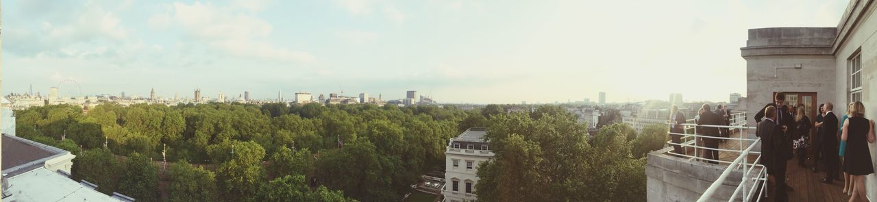 View from Carlton gardens, London Check This Out The Shard London Eye Westminster Abbey Buckingham Palace London Panoramic Photography Panoramic