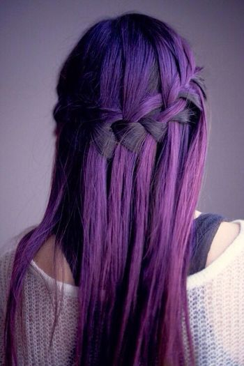 I want my hair to be this color