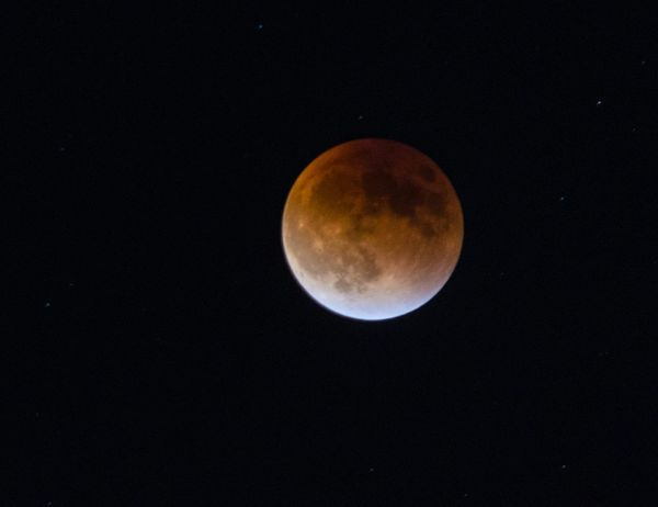 This is the Super Blood Moon beginning the transition back into the partial eclipse phase. The photo is slightly out of focus but I still wanted to share it. Supermoon Bloodmoon Eclipse Lunar Eclipse Luna Nightsky Moon Sky Skyporn Nightphotography