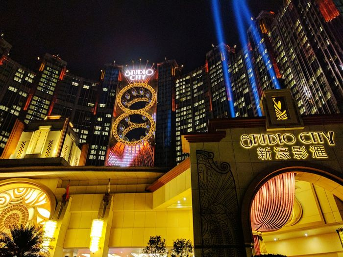 Macao China Outdoors Night City No People