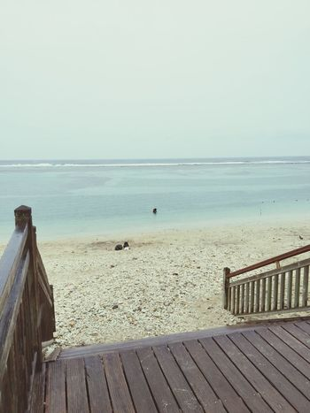 Tropical Beach Rain LaReunion Ocean Indien