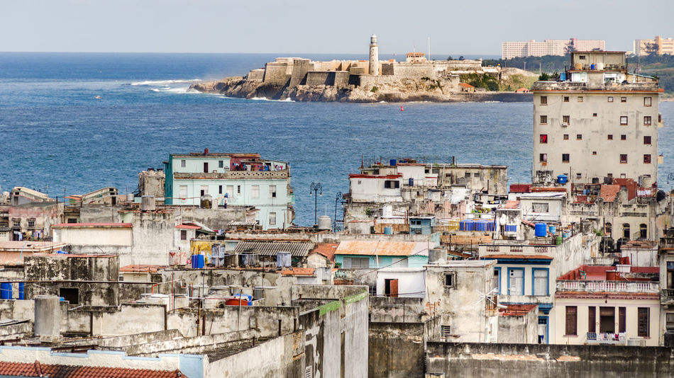 Bay Castillo Castle City Colonial Cuba, Documentary Fortress Havana Havana Cuba JournalismPhotography Lighthouse Morro Castle Ocean Ocean View Old Buildings Old City Roof Top