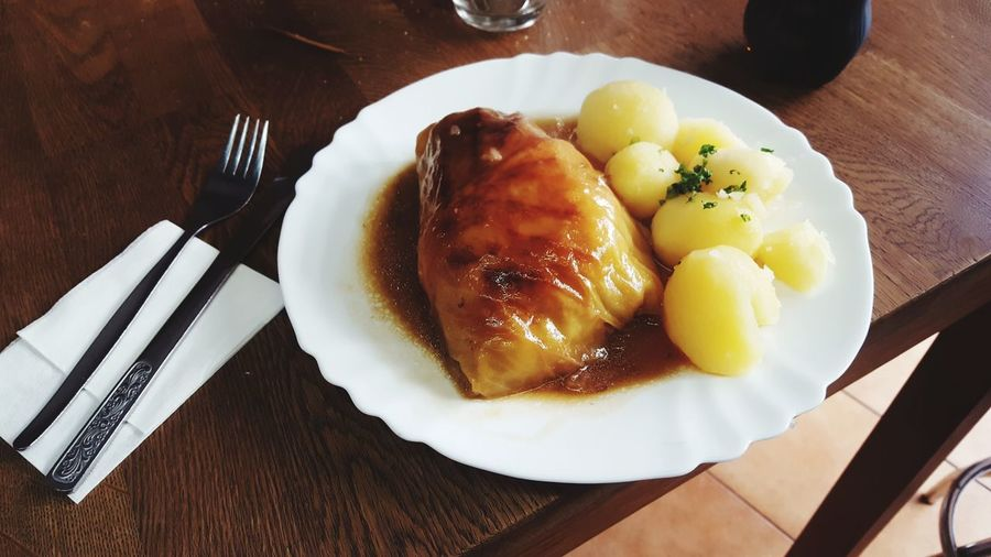 Kohlroulade Food Mahlzeit Wiebeimutter Berlin Typisch Deutsch
