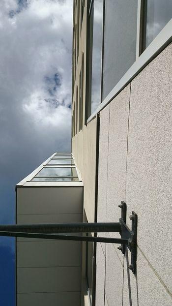 Lookingup Office Building Architecture Sky Clouds Marievik