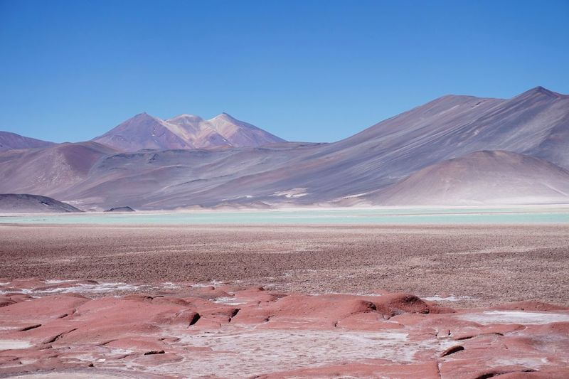 Arid Climate Beauty In Nature Blue Chile çile Clear Sky Day Desert Environment Landscape Mountain Nature No People Outdoors S Salar De Talar San Pedro De Atacama Sand Sand Dune Scenics Sky Tranquil Scene Tranquility Travel